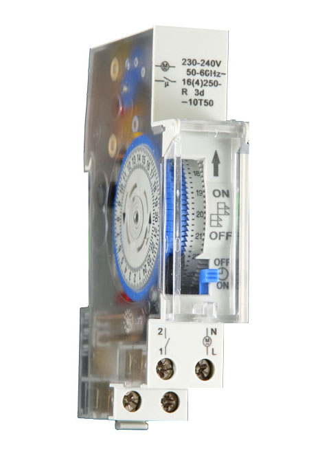 Mechanical Timer Switch 24 Hour 16a With Backup Battery