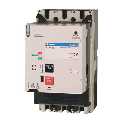 T2mc40a10nb terasaki mccbs for Motor operated circuit breaker