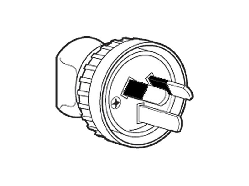 905lr Plug Locking Ring 10a Heavy Duty White