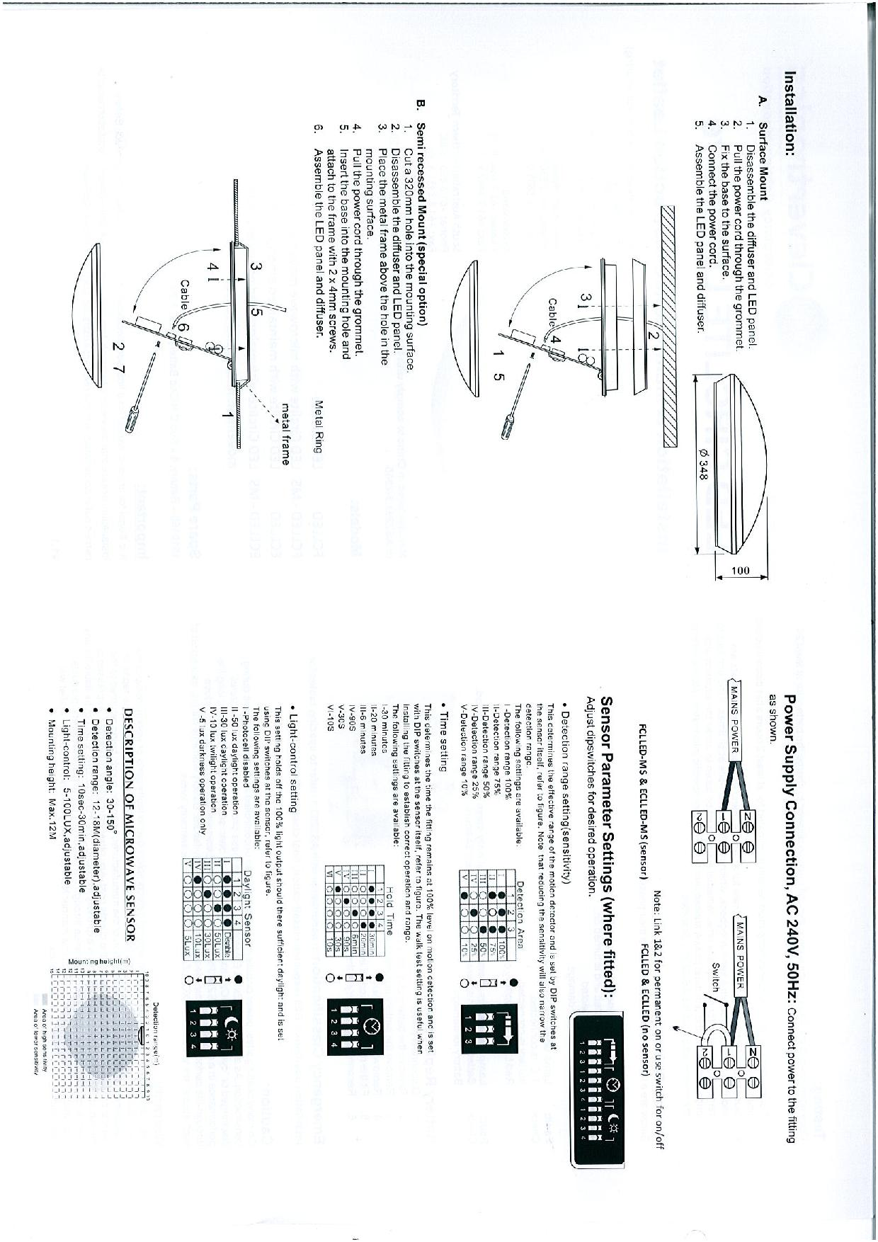 LED_Circular_Installation___Maintenance_Instruction_Leaflet page 002139831610253589c465e62a?t=1506693508 clevertronics 17 5w led emergency oyster nhp emergency light test kit wiring diagram at edmiracle.co