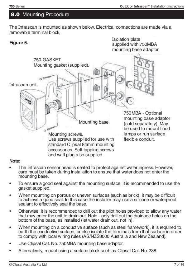 750wpr page 004?t=1453208720 clipsal 3 wire infrascan clipsal rcd mcb wiring diagram at edmiracle.co