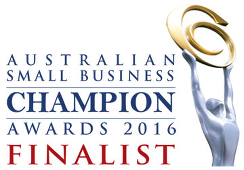 Australian Small Business Champion Awards 2016 Finalist