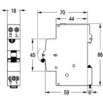 m6rcbd1030c_3?t=1508970036 single pole rcd mcb 7 year warranty nhp rcd wiring diagram at edmiracle.co