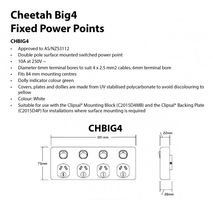 TRADER Semi Slim Cheetah Series Quad Power Point 10A