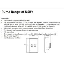 TRADER Pumma Fully Integrated Quad USB Charger
