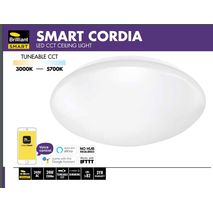 Smart Cordia LED CCT Ceiling Light  works with Alexa and Google Assistant