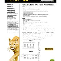 Trader 4 Gang Fixed Power Point Double Pole  data sheet