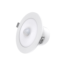 Sal Led  Recessed Cutout 92m Downlight CCT DIP switch 3000K / 4000K / 5700K 10W  Integral PIR Sensor