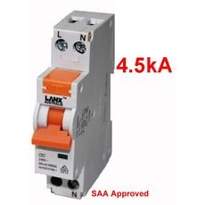 Single Pole Safety Switch 32A 30ma 4.5KA RCD MCB