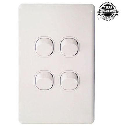 LANX Four Gang Wall Switch 16A