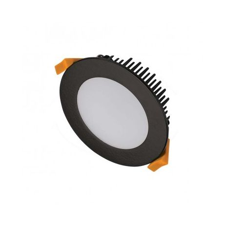 3A Lighting 13W Dimmable LED Downlight with 3 Color Selector Switch - 3000K - 4000K - 5000K - Flat Face
