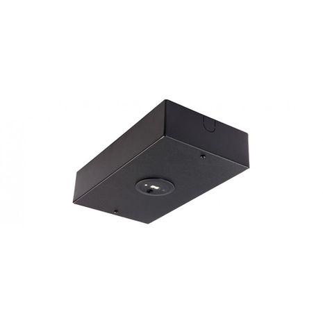 Surface Mounted Emergency Light with Lithium Battery Technology – Black LED Head