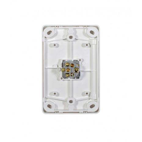 Trader Switch Vertical 1 Gang, 10AX/16A 250V back