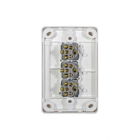 Trader Switch Vertical 3 Gang, 10AX/16A 250V back
