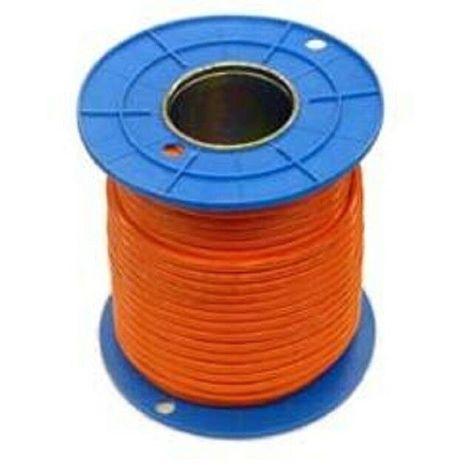 Orange Circular Power Cables 10mm2  2C+E (100 Meter Drum)