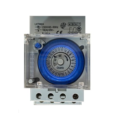 Mechanical Timer Switch 24 Hour 16A