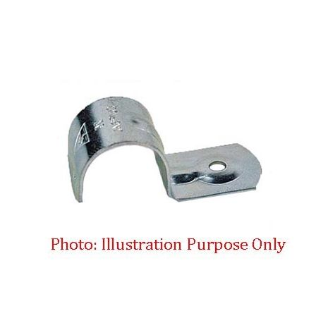 32mm Metal Half Saddle 6mm Hole (100 Pieces)