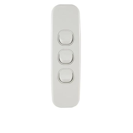 Architrave Switch Three Gang