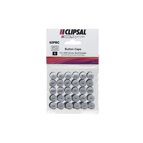 Clipsal 60PBC Button Identification Cap