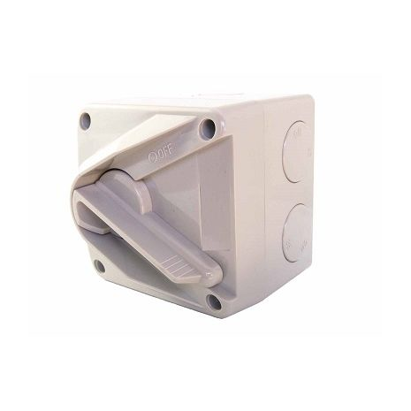 Lockable Mini Isolating Switch 1 pole 20A