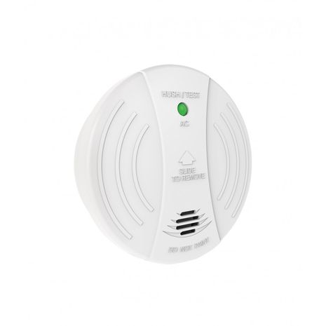 Trader Photoelectric Smoke Alarm Surface Mount 240V AC 9V Battery Back Up Single or Interconnectable 4 Terminals