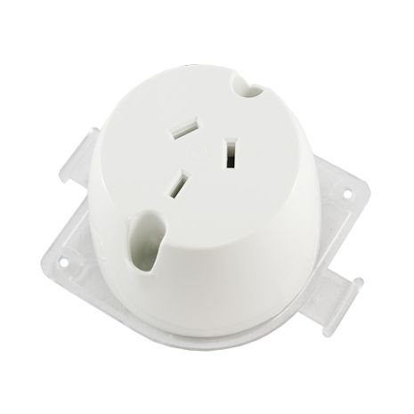 Surface Mount Socket Single with Loop 10Amp
