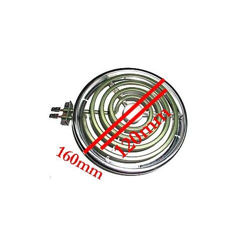 Wired in Stove Element 120mm 1800W with Ring