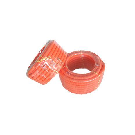 50mm x 25Mtr Orange Corrugated Conduit