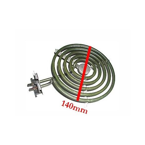 Wired in Stove Element 140mm 1250W