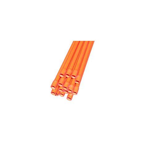 25mm H.D Orange Conduit 4m Lth
